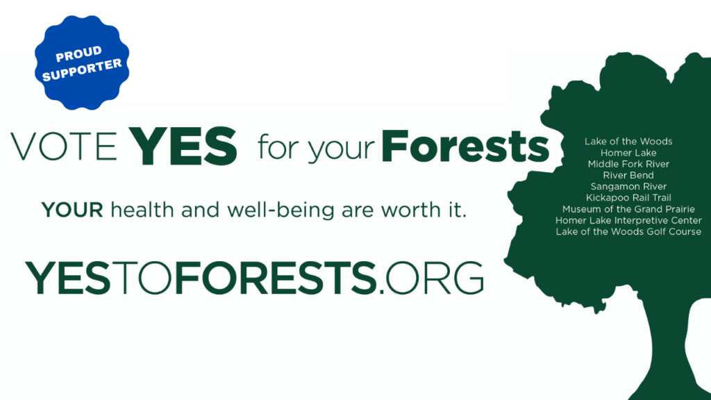Vote Yes for our Forests